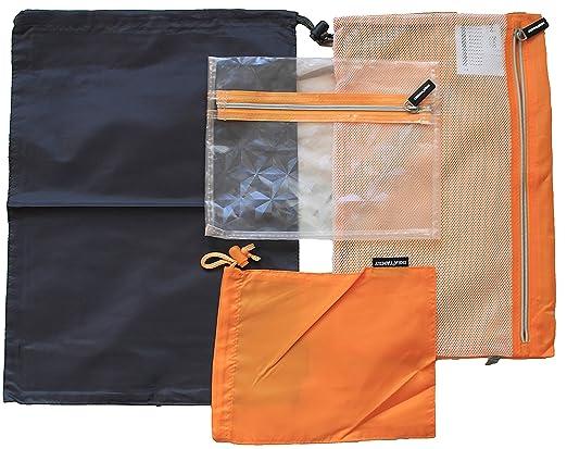 Ikea Koffer ikea 4er set reisebeutel upptäcka kofferorganizer für kurz und