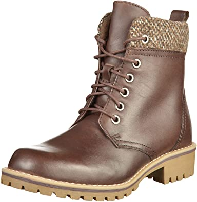 f3a0d232992b MARCO TOZZI 2-26284-31 Womens Mocca Leather Booties, 5 UK  Amazon.co ...