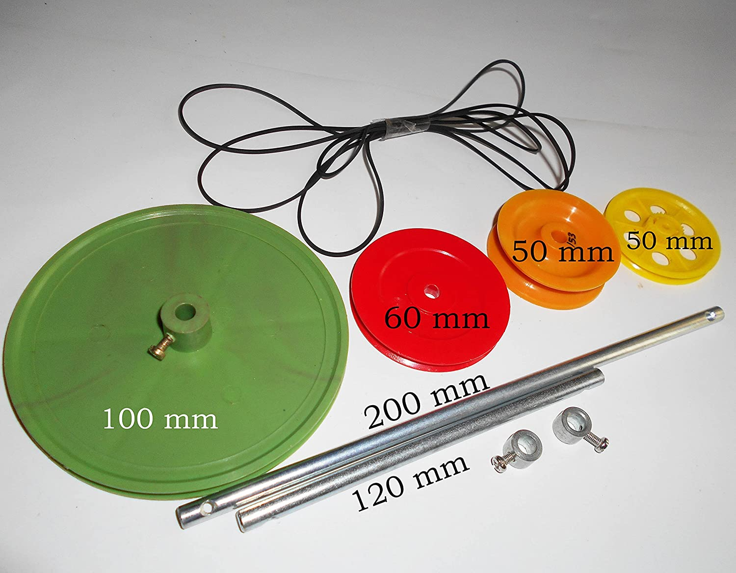 Science Projects Kit For DIY 4 Types Of Big Pulley Wheels