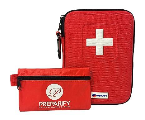 Kit de Premiers Secours Compact - Rouge JIL2BPa9