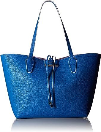 : Guess Bobbi Bolsa reversible, Azul, talla