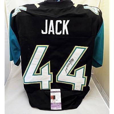 official photos ce17d 942dc Myles Jack Signed/Autographed Black Jacksonville Jaguars ...
