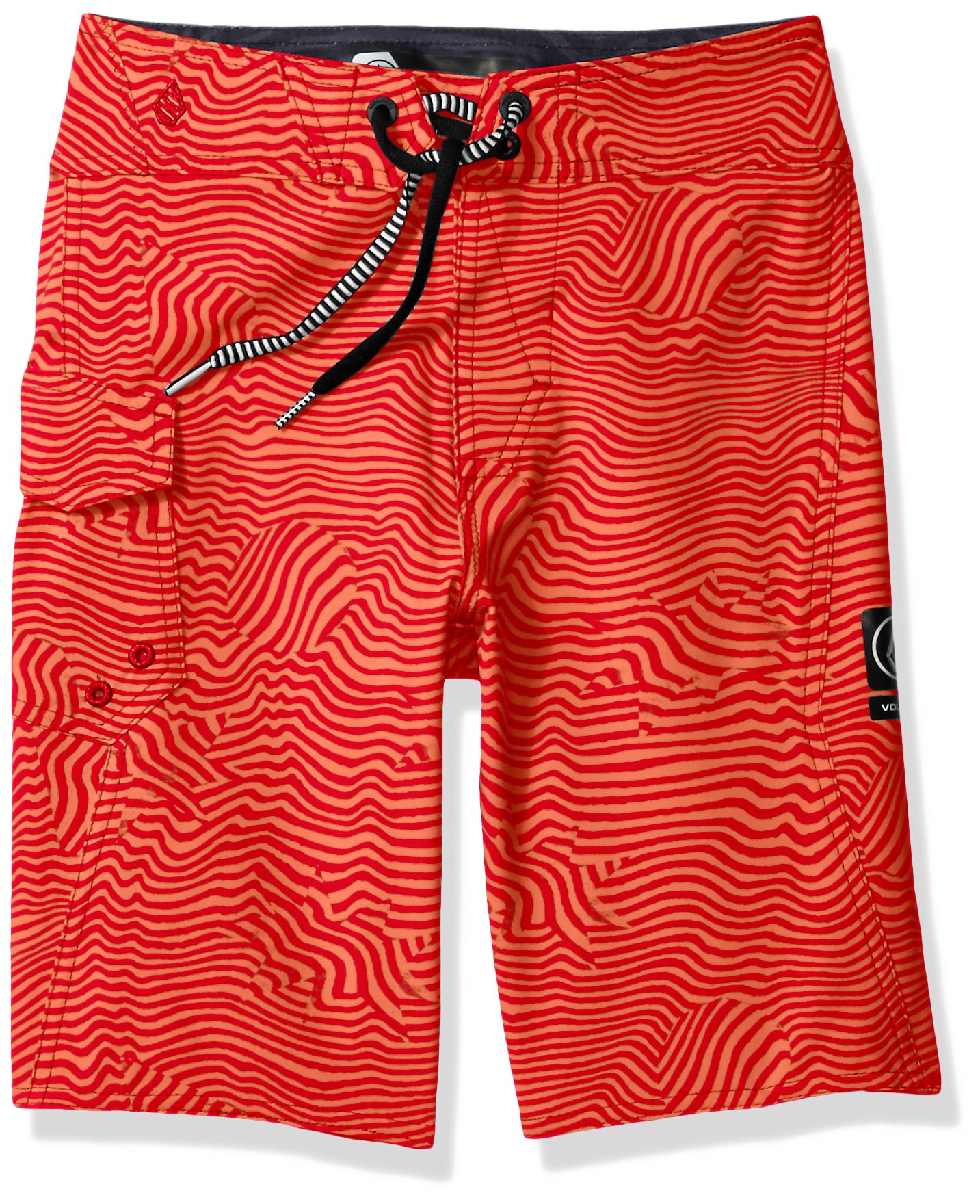 Volcom Big Boys' Magnetic Stone Youth Boardshort, Toffee, 24
