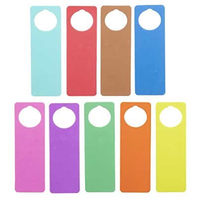 Darice Foam Door Hangers 9/Pkg-Assorted Colors: Arts, Crafts & Sewing
