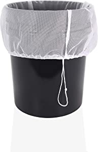 Veradura Cider Press Straining Mesh Bag - 20 inch x 14.6 inch - Complete with Secure Drawstring for Pressing Fruit, Cider, Apples, Grapes, Wine and Many More