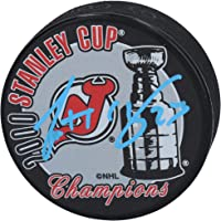$27 » Scott Gomez New Jersey Devils Autographed 2000 Stanley Cup Champions Logo Hockey Puck - Fanatics Authentic Certified