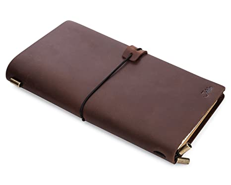 amazon com refillable leather journals for men women best