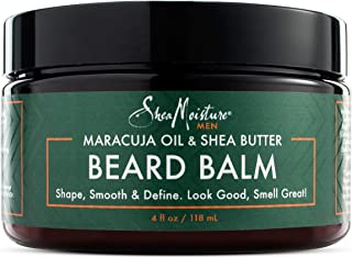 product image for Shea Moisture Mens Beard Balm, All Natural ingredients, Made With Maracuja Infused Shea Butter, Shape-Smooth & Define, 4 Ounce (M-BB-2949)