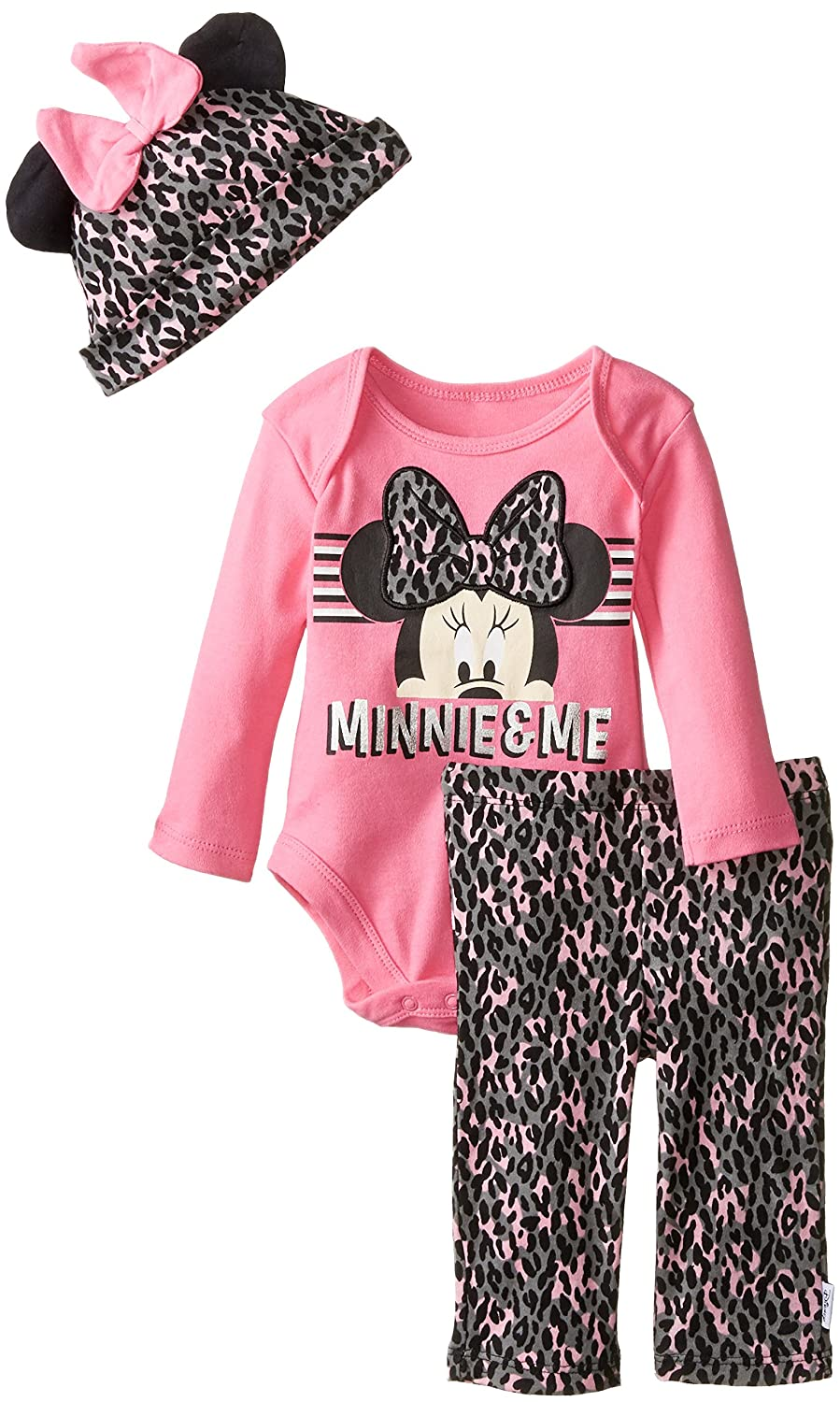 Disney baby-girls Baby Minnie and Me 3 Piece Set DMANG7840