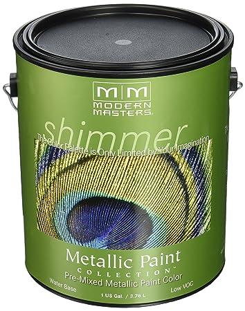 MODERN MASTERS ME660 GAL Metallic Paint, Pharaoh Gold