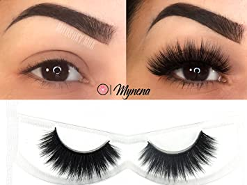 0f489343bbd Amazon.com : Faux Mink Lashes 3D False Eyelashes Natural to Dramatic Look  Collection | Reusables | Handmade Vegan and Cruelty-Free | Premium Quality  ...