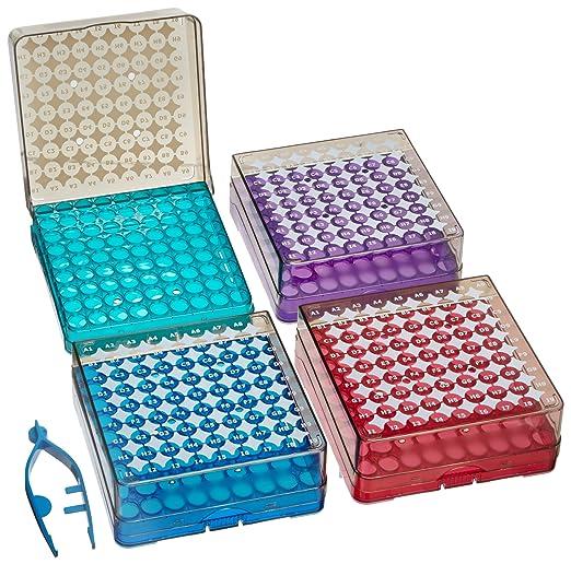 Heathrow Scientific HD23381B Arctic - Caja de criogenización (9 x ...