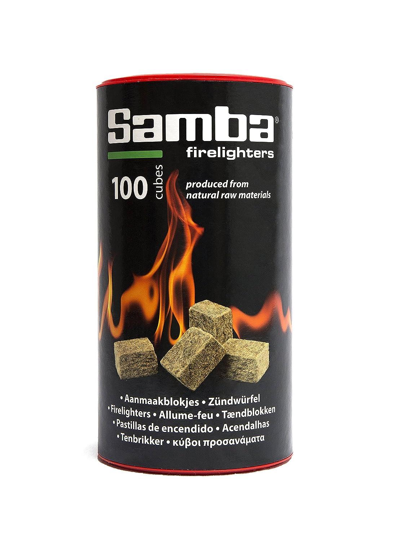 Samba Fuego 0332 - Pastillas de encendido ecológico, color marrón