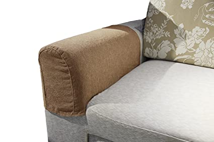 Zipcase Couch/Sofa Armrest Covers For Armchairs, Loveseats And Sofas, Set  Of Two