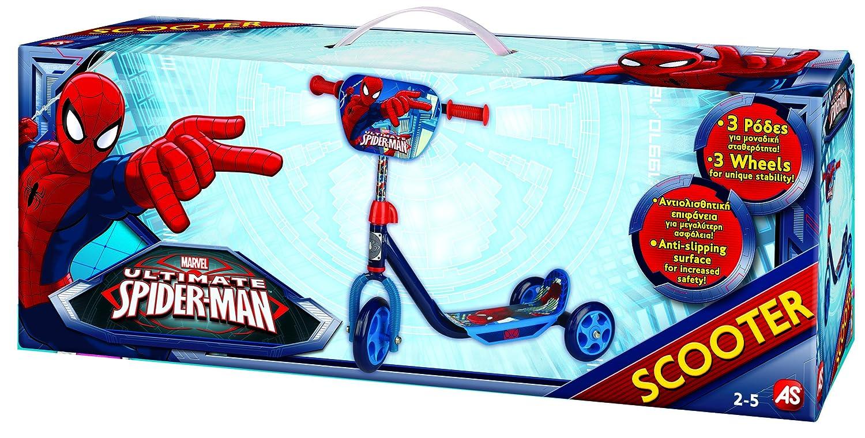 Amazon.com: Marvel Spider Man – Patinete de 3 ruedas (Pre ...