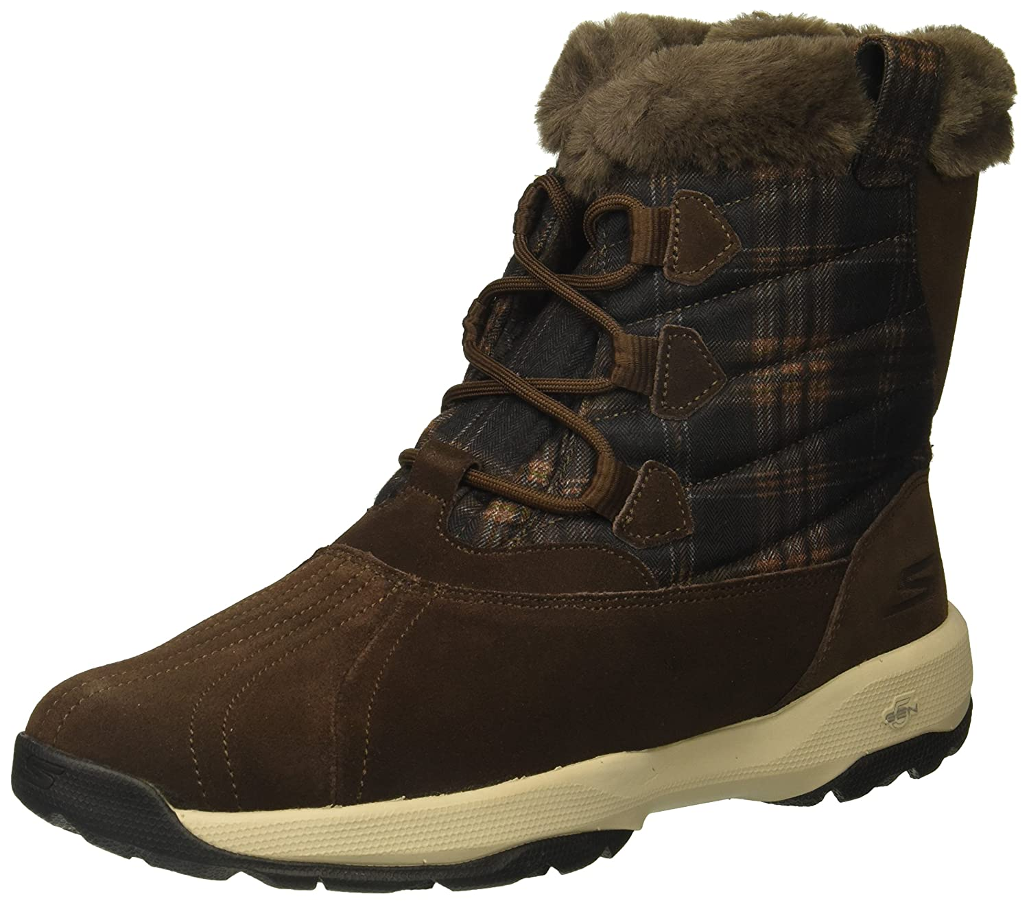 Skechers SkechersGo Walk Outdoors - Crest - Go Walk Outdoors - Crest Damen  39 EU|Schokoladenbraun