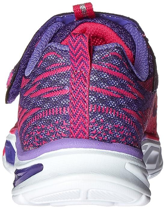 Skechers Mädchen S Lights: Litebeams Sneakers, Rosa (HPPR