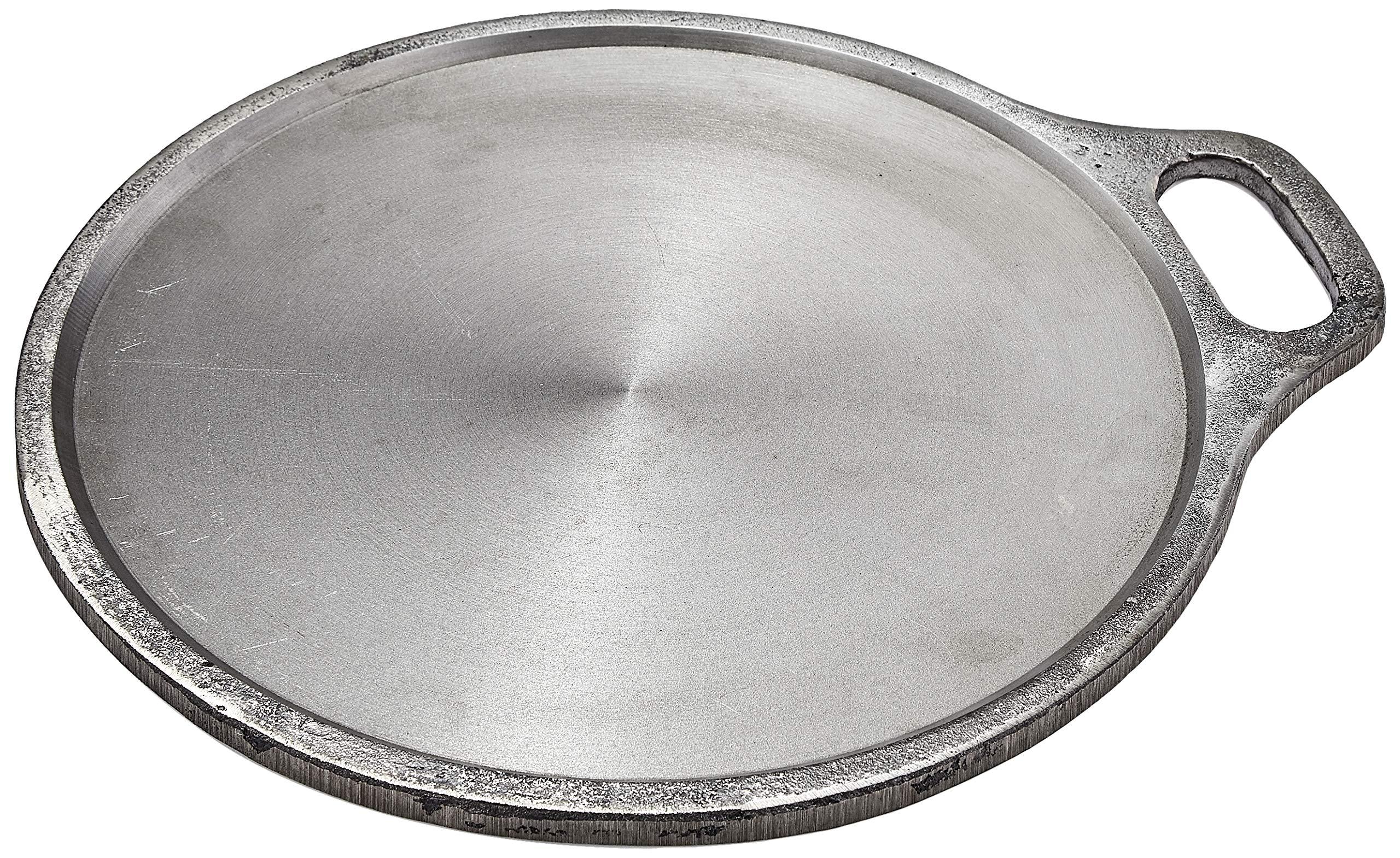 Amazon Brand - Solimo Traditional Cast Iron Dosa Tawa, 12 Inches (30 cm)