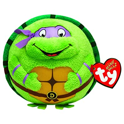 Nickelodeon Ty Beanie Ballz Donatello Purple Mask: Toys & Games