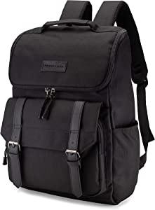 Win A Free HumanCentric Canvas Laptop Backpack for Men and Women (Black)...