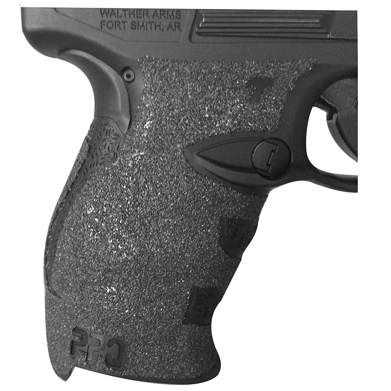 TALON Grips for Walther PPQ M1 & M2 (Granulate-Black