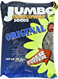 JUMBO SUNFLOWER SEEDS , Original, 10.5-Ounce (Pack of 6) - Packaging may vary