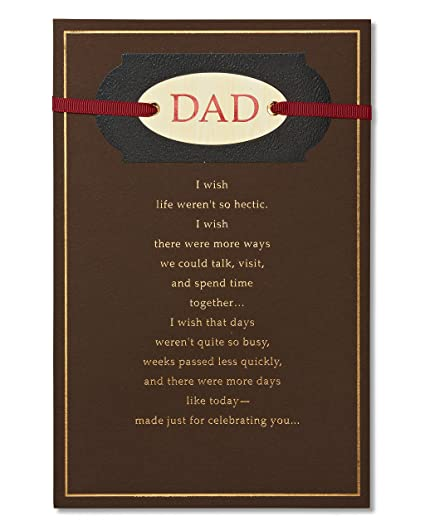 Birthday Card For Dad - Card Design Template