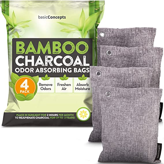 Pets Shoes Breathe Bamboo Bags Natural Carbon Bags for Home Activated Carbon Bag Absorber Closet chmy Bamboo Charcoal Bags Car 7 Pack