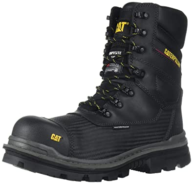 cef32e8fd Caterpillar Men s Thermostatic Ice+ Waterproof TX CT Industrial and  Construction Shoe