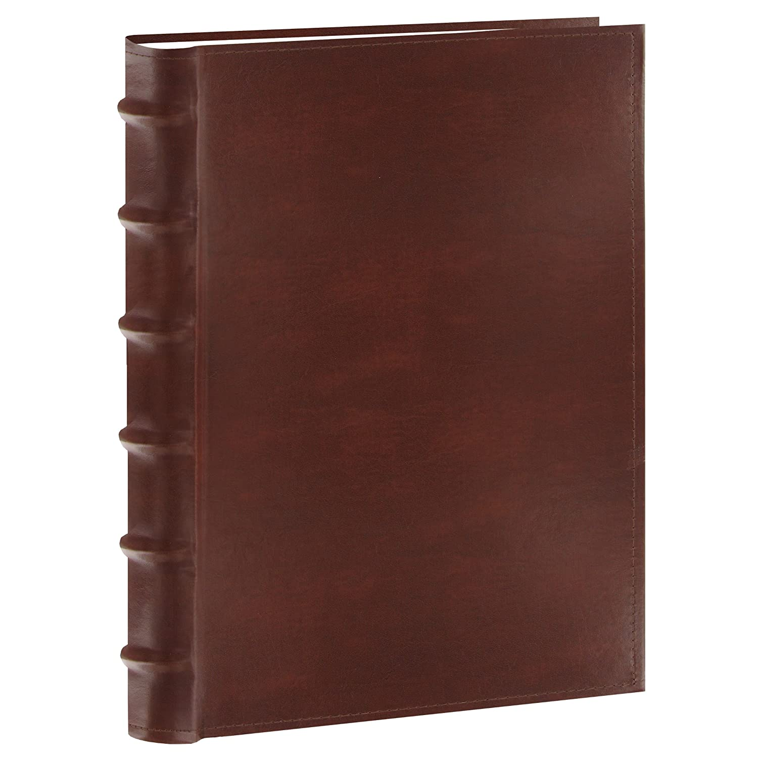 Pioneer Photo Albums 200-Pocket European Bonded Leather Photo Album for 5 by 7-Inch Prints, Burgundy CLB-257/BG