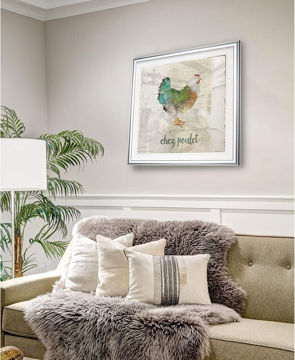 WEXFORD HOME Turtle in Seagrass I -Framed Giclee Print 32 x 32