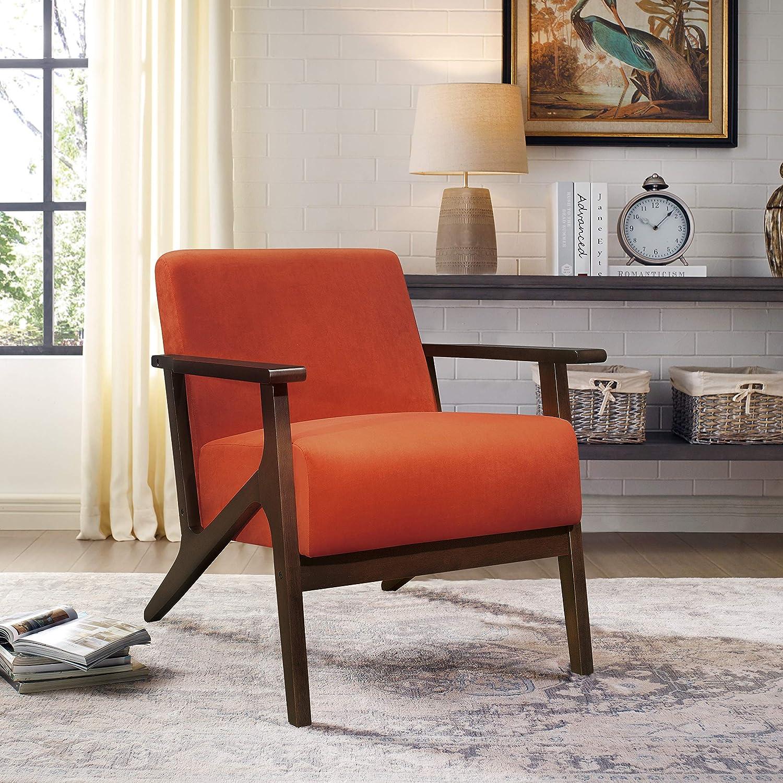 Lexicon Socorro Accent Chair Orange