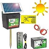 11.500 Volt POWER Weidezaungerät B 7000 9 Volt Batterie Elektrozaun Gerät
