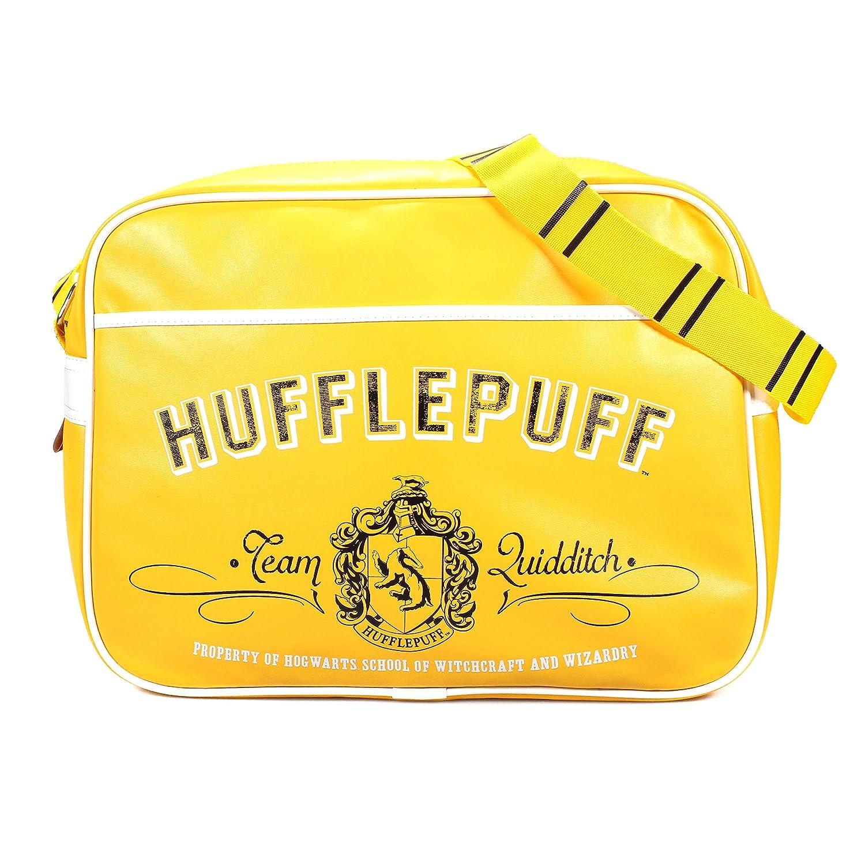 Harry Potter Hufflepuff Crest Retro Bag
