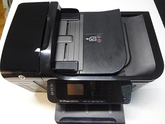 HP Officejet Impresora HP Officejet 6500A Plus e-All-in-One - Impresora multifunción (inyección de tinta, imprimir, copiar, escanear, fax, 4800 x 1200 DPI, 10 ppm, 7 ppm, 32 ppm): Amazon.es: Informática