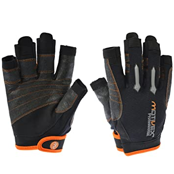 Bekleidung Handschuhe Schwarz Gill Pro Short Finger Segelhandschuhe 2018