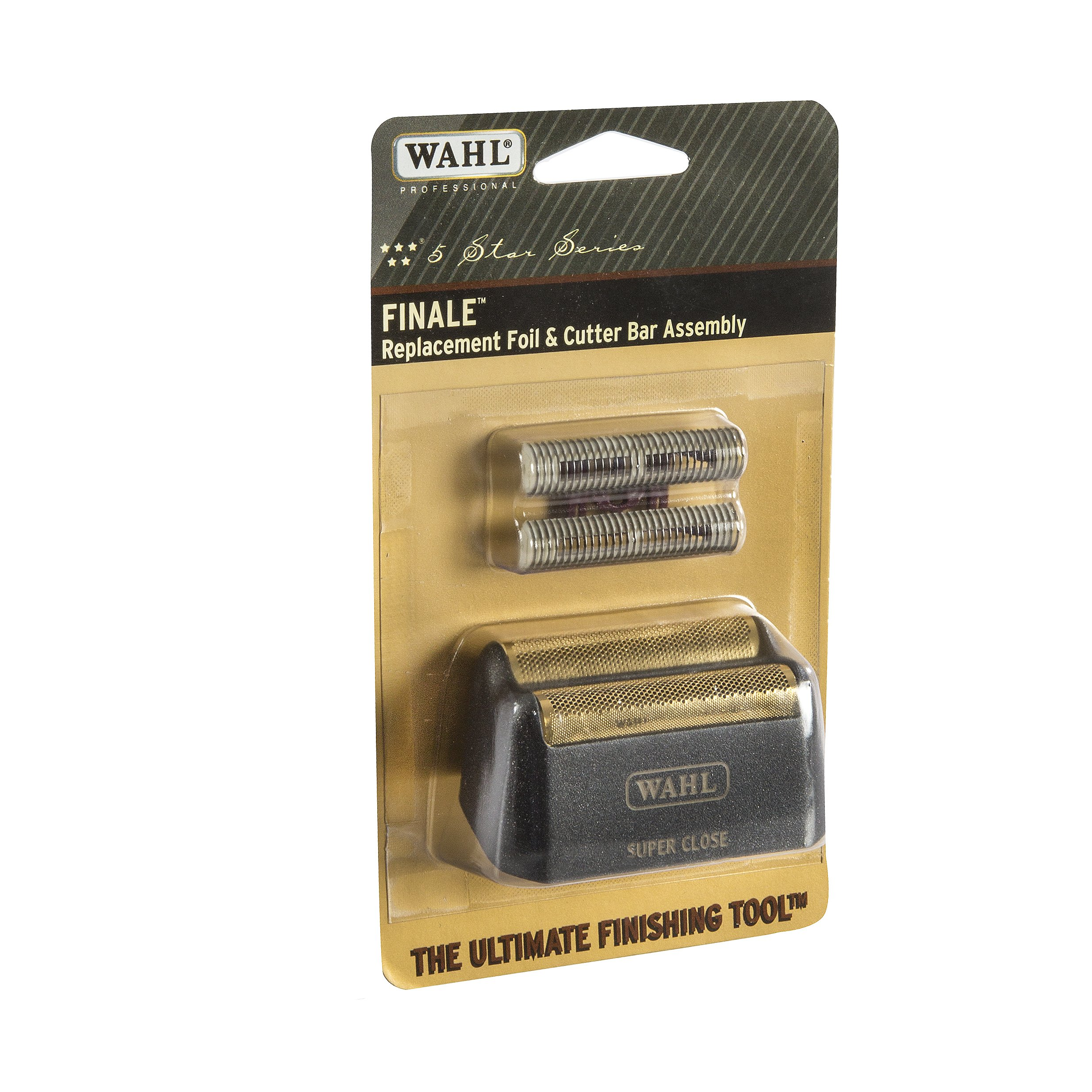 Wahl Professional 5-Star Series Finale Replacement Foil and Cutter Bar Assembly #7043 – Hypo-Allergenic For Super Close Bump Free Shaving – Black