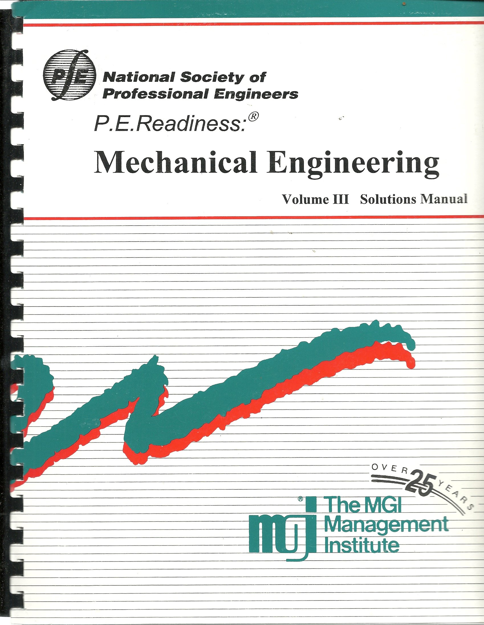 P E  Readiness- Mechanical Engineering Volume III Solutions