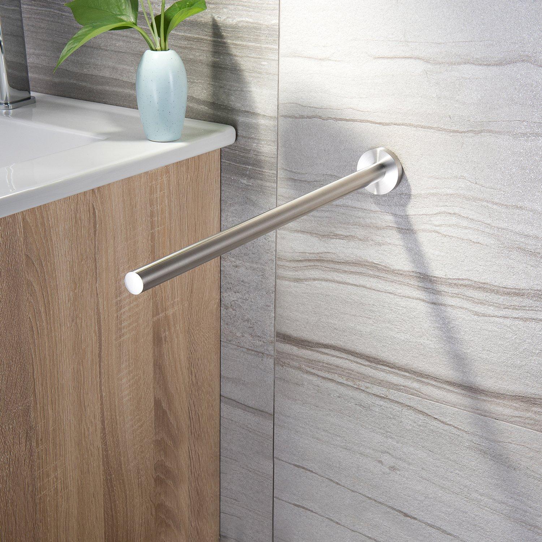 Zunto Handtuchhalter 40cm Stange Wand Bad Handtuchstange Badetuchhalter Edelstah Möbel & Wohnen