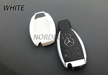 Abs Hartschalen Schutzhülle Für Mercedes Benz 3 Button Schlüsselanhänger Mercedes Modell A Class Amg B Klasse C E G K R S Auto
