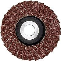 Proxxon Lamellenslijper (slijpschijf ø 50 mm, K 240, perforatie 10 mm, voor gietijzer, grijs gietijzer, staal, hout…