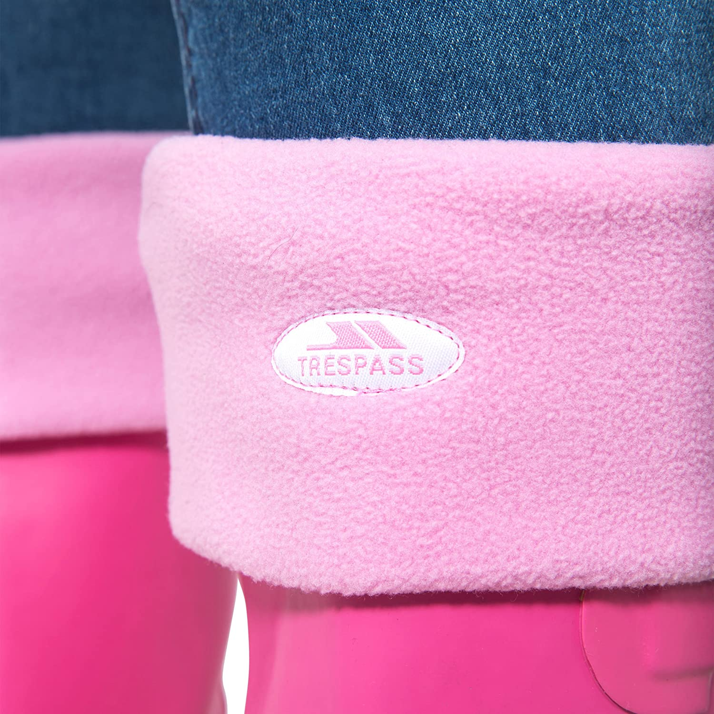 Trespass Womens Snookie Welly Liner Fleece Soft Warm Pink Socks