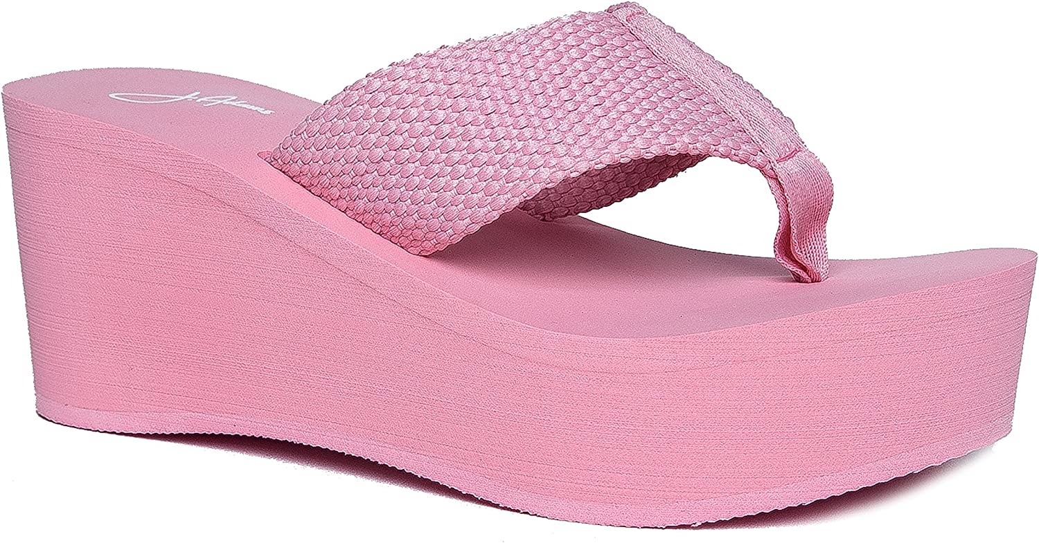 J. Adams High Platform Foam Sandal