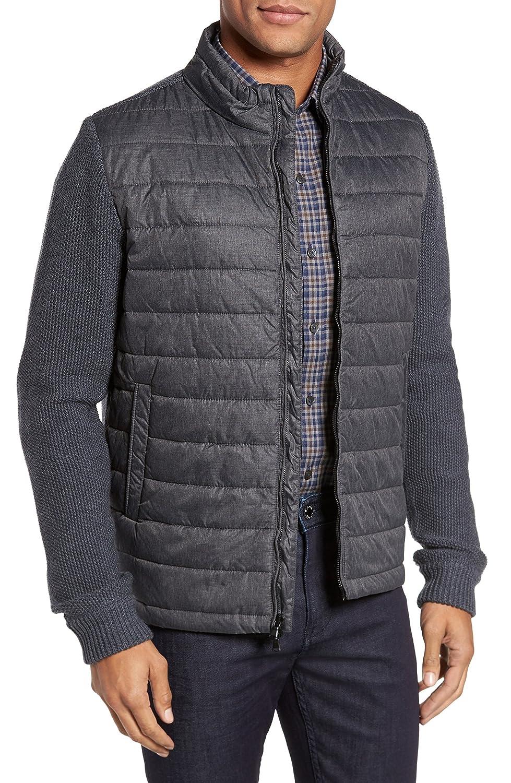 [ザッカリープレル] メンズ ジャケットブルゾン Zachary Prell Hinman Quilt Front Merino [並行輸入品] B07C39QWY8 Small