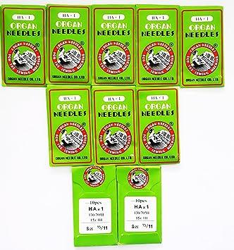 Brother sasew 75/11 Agujas para Máquinas de Coser: Amazon.es: Juguetes y juegos