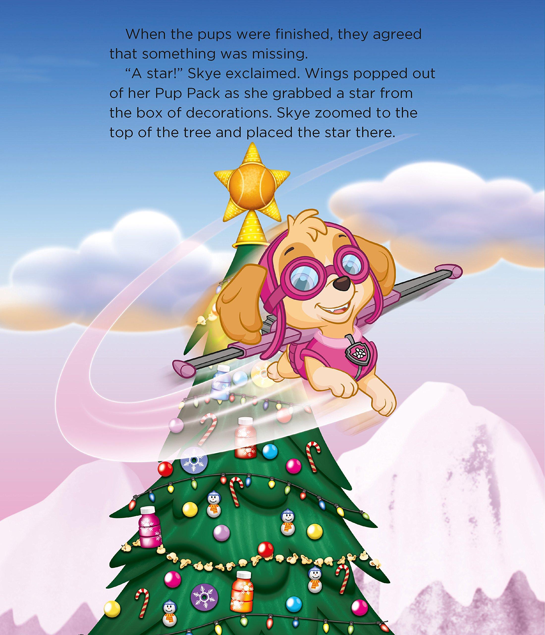 Pups Save Christmas Book.Nickelodeon Paw Patrol The Pups Save Christmas Parragon
