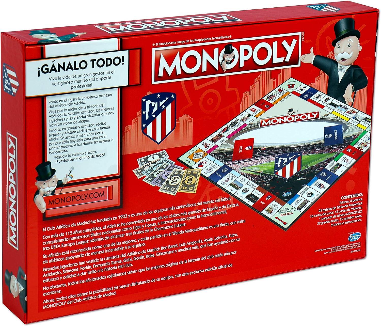 Winning Moves Monopoly Atletico Madrid (10230), Multicolor: Amazon.es: Juguetes y juegos