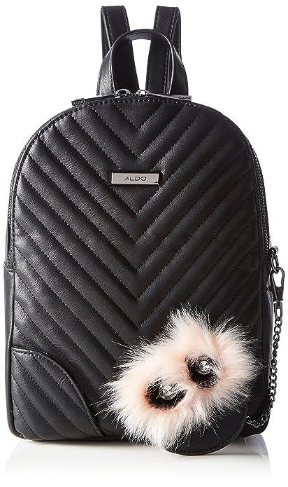 Aldo Womens Derolore Backpack Handbag Black (Black)  Amazon.co.uk  Shoes    Bags 7454adae6bd83