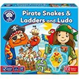 Orchard Toys Pirate Snakes and Ladders & Ludo Game
