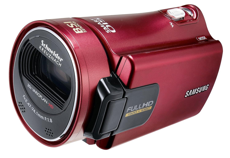 Samsung HMX-H300RP - Videocámara (CMOS, 5 MP, 30 x, 300 x, 247-7410 mm, SD, SDHC) Rojo: Amazon.es: Electrónica